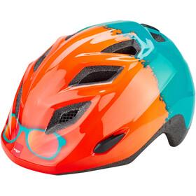 MET Elfo Helm Kinder orange rayban